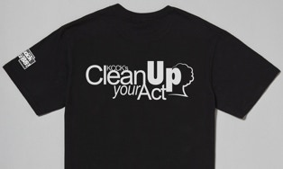 "I designed the logo for KCCK's ""Clean Up Your Act"" program."